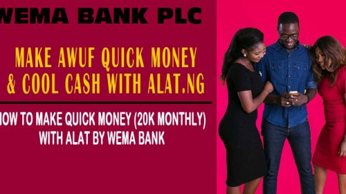 How to Make Money with WEMA BANK ALAT
