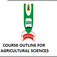 NOUN COURSE OUTLINE FOR PGD AGRICULTURAL EXTENSION AND MANAGEMENT