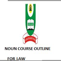 NOUN COURSE OUTLINE FOR PGD IN LEGISLATIVE DRAFTING
