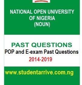 noun pop exam past questions
