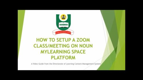 Learning Space Online Facilitation| National Open University