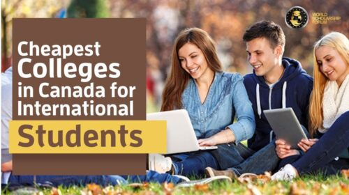 List Of Cheapest Universities In Canada