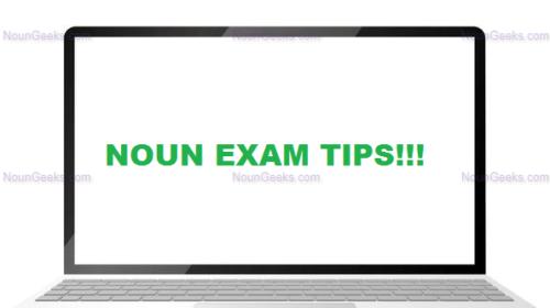 NOUN Exam Tips for Freshers