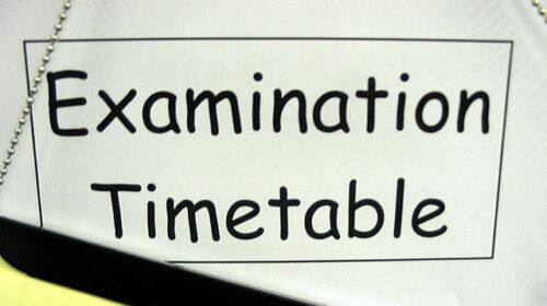 NOUN e-Exam Timetable 2021 First Semester Final Draft